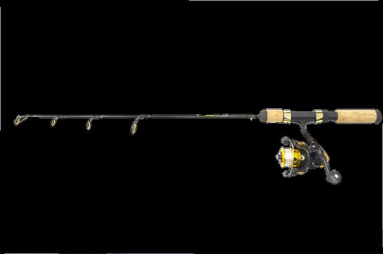 25 POLAR GOLD COMBO UL ACTION W/DS-102G 2B IAR REEL W/LINE