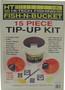 FISH N BUCKET TIP-UP KIT, 15PC. ASSORTMENT