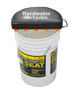 HARDWATER BUCKET SEAT W/ROD CLIP HOLDERS FOR 5/6 GALLON BUCKETS