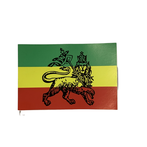 RASTA FLAG - STICKER