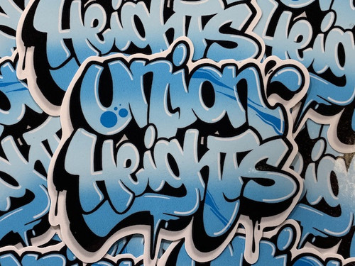 UNION HEIGHTS GRAF STICKER