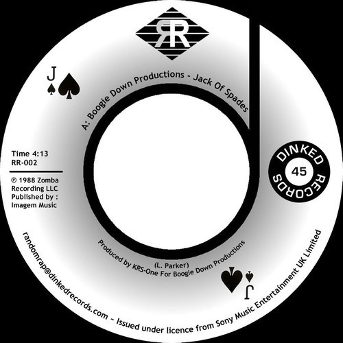 BOOGIE DOWN PRODUCTIONS - JACK OF SPADES  7inch