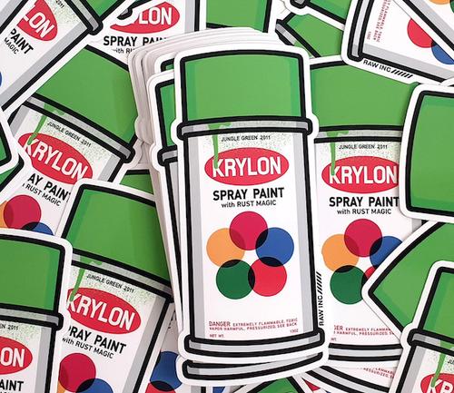 KRYLON | 13cm sticker