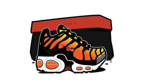 Tiger Orange TN - CUSHION