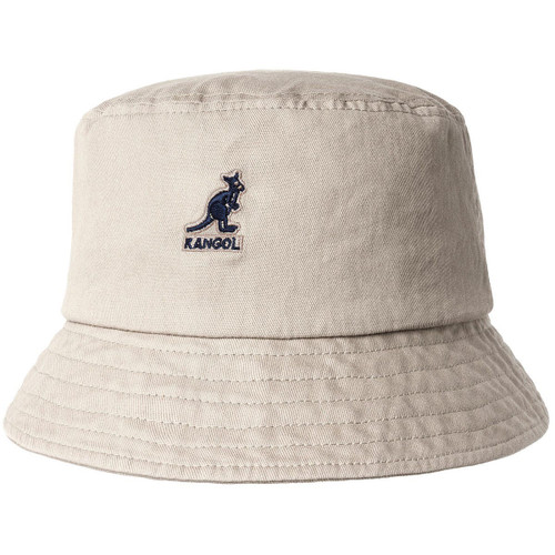 KANGOL | WASHED BUCKET HAT | KHAKI