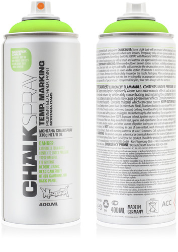 MONTANA CHALK SPRAY [instore sales only]