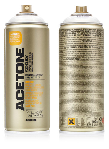 MONTANA | ACETONE - CAP CLEANER [instore sales only]
