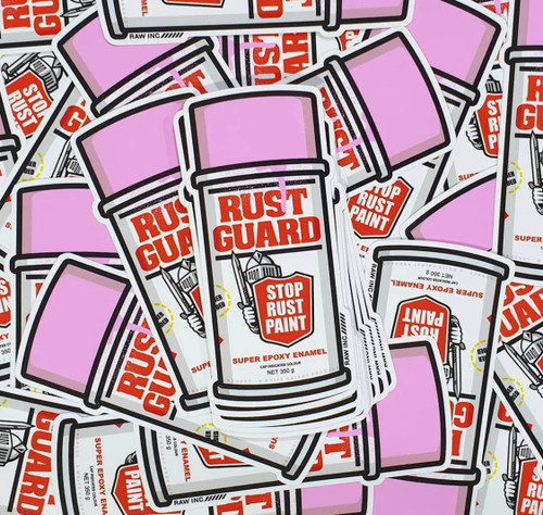 Classic Rust Guard | Sticker