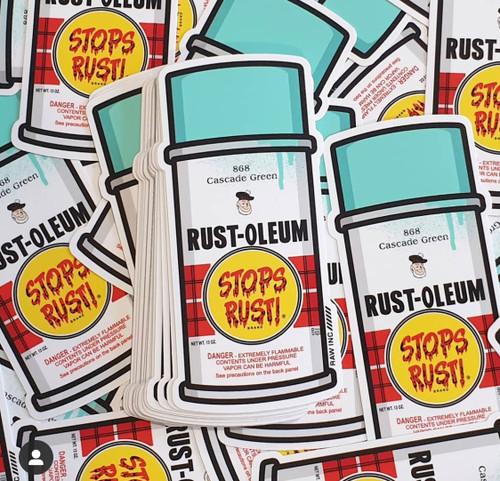 Classic Rust-oleum   Sticker