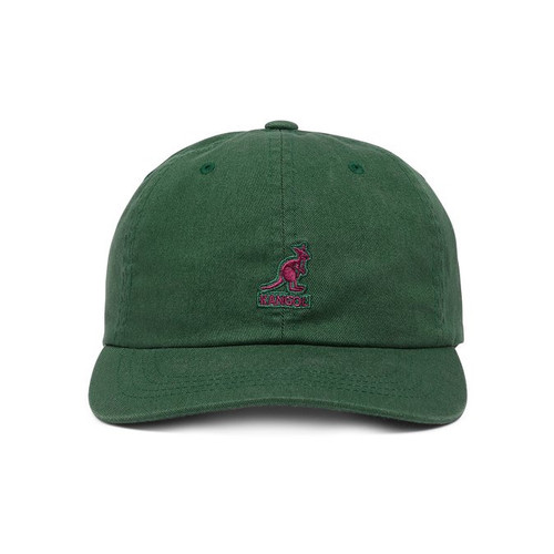 KANGOL | WASHED BASEBALL | ALGAE GREEN