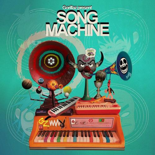 GORILLAZ - Song Machine, Season One: Strange Timez (Limited, Indie Exclusive, Neon Orange Vinyl)