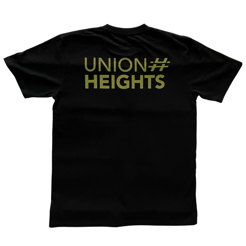 UNION HEIGHTS LOGO TEE | ATTACK FORCE CAMO GREEN