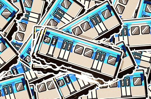 VIC COMENG METRO TRAIN | STICKER
