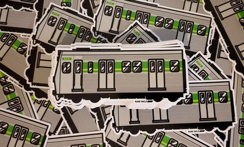 VIC Hitachi Train   sticker