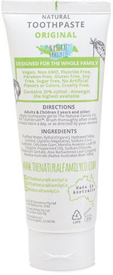 The Natural Family Co Original Natural Toothpaste -- 3.88.fl.oz.