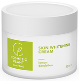Cosmetic Plant Skin Whitening Cream With Lemon And Dandelion Extract -- 1.69.fl.oz.