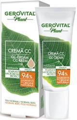 Gerovital Plant Mattifying CC Cream Microbiom Protect
