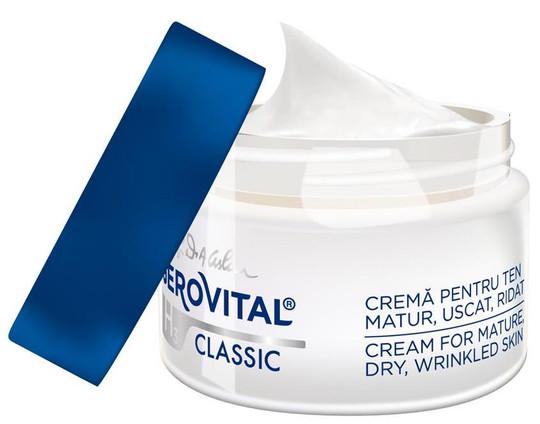 Gerovital H3 Classic Cream for Mature Dry Wrinkled Skin -- 1.69 fl.oz.