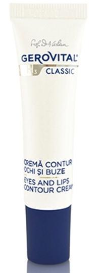 Gerovital H3 Classic Eyes lips contour cream