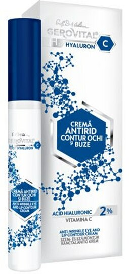 Gerovital H3 Hyaluronic C Anti Wrinkle Eye and Lip Contour Cream -- 0.51 fl.oz.