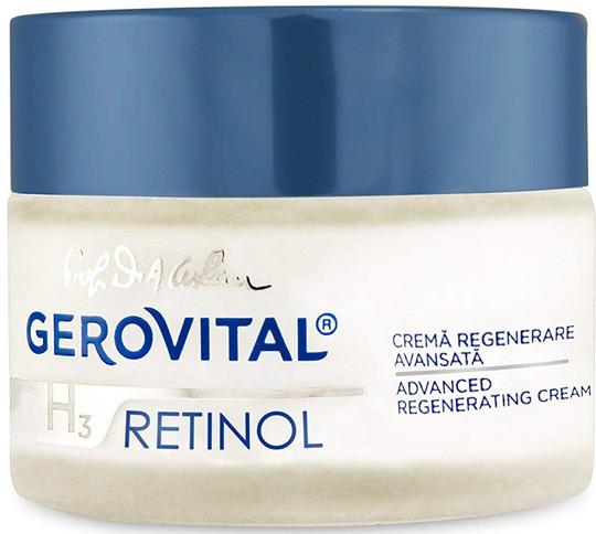 Gerovital H3 Retinol Advanced Regenerating Cream -1.69 fl.oz.