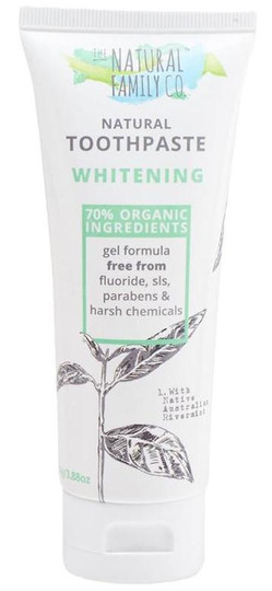 The Natural Family Co Whitening Natural Toothpaste -- 3.88.oz.