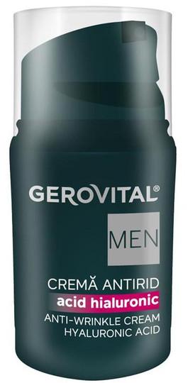 Gerovital MEN Anti-Wrinkle Cream With Hyaluronic Acid -- 1 fl.oz.
