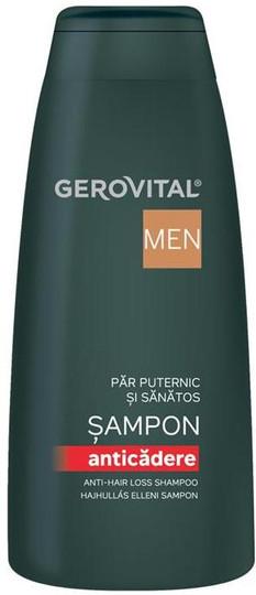 Gerovital Men Anti-hair loss shampoo --13.53 fl.oz.