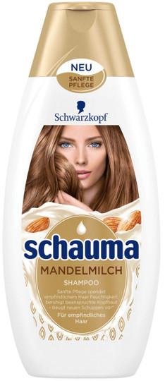 Schauma Shampoo for Sensitive Hair with Almond Milk --13.5.fl.oz.