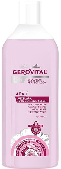 Gerovital H3 Evolution Perfect Look Micellar Water with Wild Rose Oil