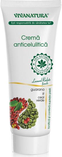 Viva Natura Anti-Cellulite Cream With Guarana And Green Tea