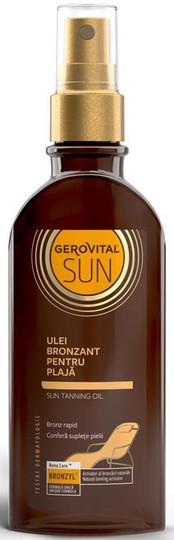 Gerovital Sun Sun Beach Tanning Oil