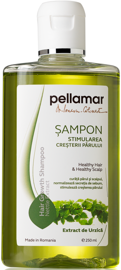 Pellamar Shampoo Stimulating Hair Growth With Nettle Extract