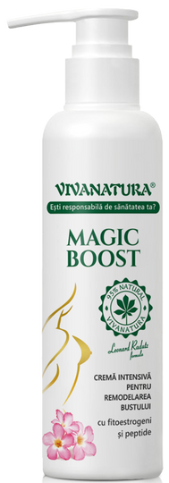 Viva Natura Magic Boost Intensive Bust Remodeling Cream With Phytoestrogens & Peptides