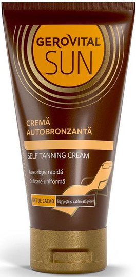 Gerovital Sun Sun Self-Tanning Cream