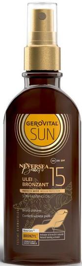 Gerovital Sun Tanning Oil SPF 15 Sun