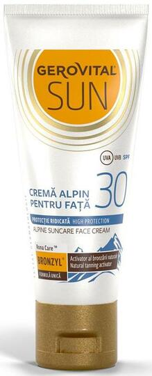 Gerovital Sun Alpine Face Cream SPF 30 Sun