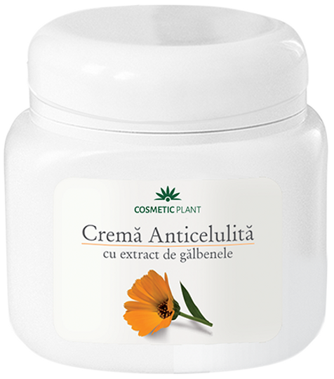 Cosmetic Plant Anti-Cellulite Cream With Marigold Extract