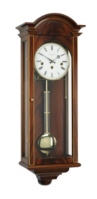 C3061CH - Comitti of London - The Oxford  Westminster Chime Mahogany Wall Clock
