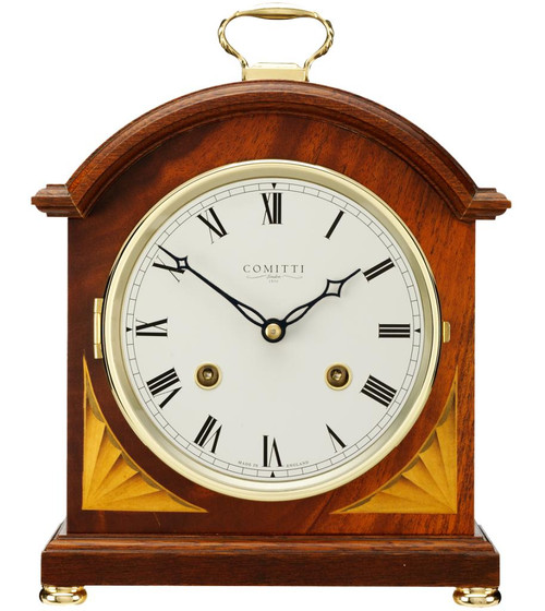 C4004S - Comitti of London Regency Break Arch Mantel Clock