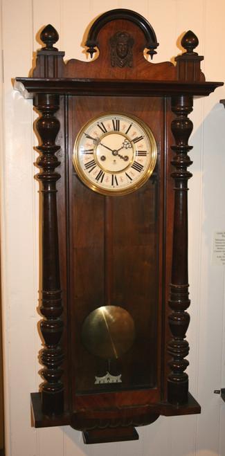 Circa 1900 Gustav Becker Wall Clock