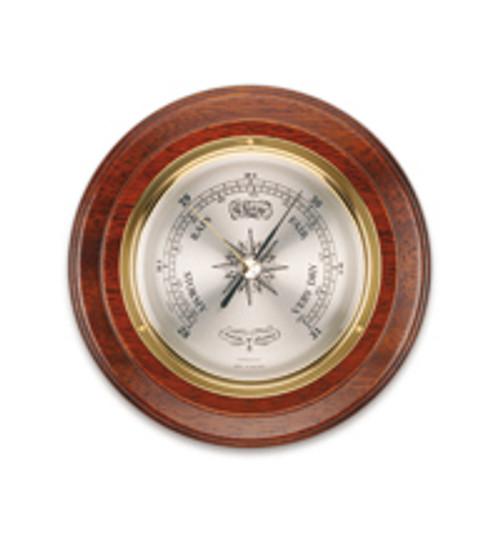 "B036.4 - Comitti of London Bracket Aneroid Barometer 4"" Diameter Dial"