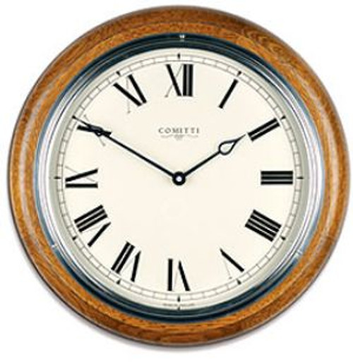 C3842Q-CR - Comitti of London 'The Plymouth' Wall Clock
