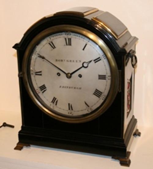 Robert Green of Edinburgh Fusee Bracket Clock - (1781-1834)
