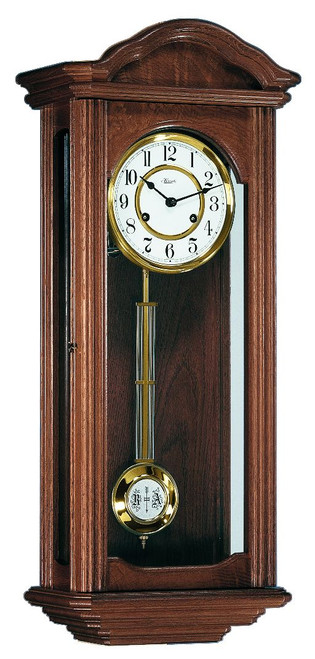 70411-030341 - Hermle Ickenham Walnut Finish Wall Clock