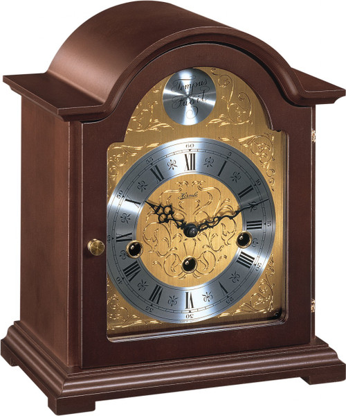 22511-030340 - Hermle Bethnal Walnut Finish Mantel Clock