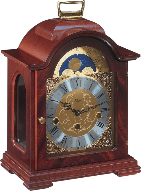 22864-070340 - Hermle Debden Mahogany Finish Mantel Clock