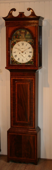 David Wyllie of Ayrshire Longcase Clock - Circa 1840
