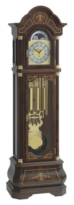 0138-82-03 - Kieninger Walnut  Grandfather Clock