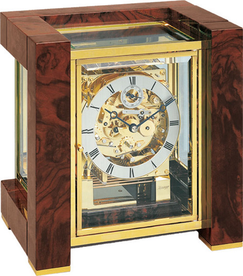 1266-82-01 - Kieninger Mantel Clock Front View